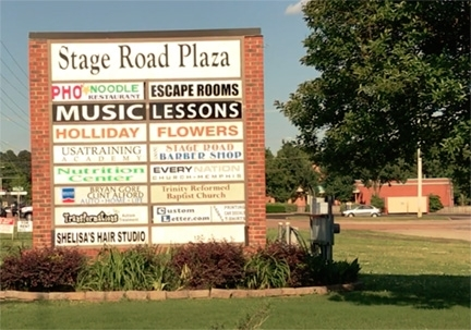 sign.stage.road.plaza